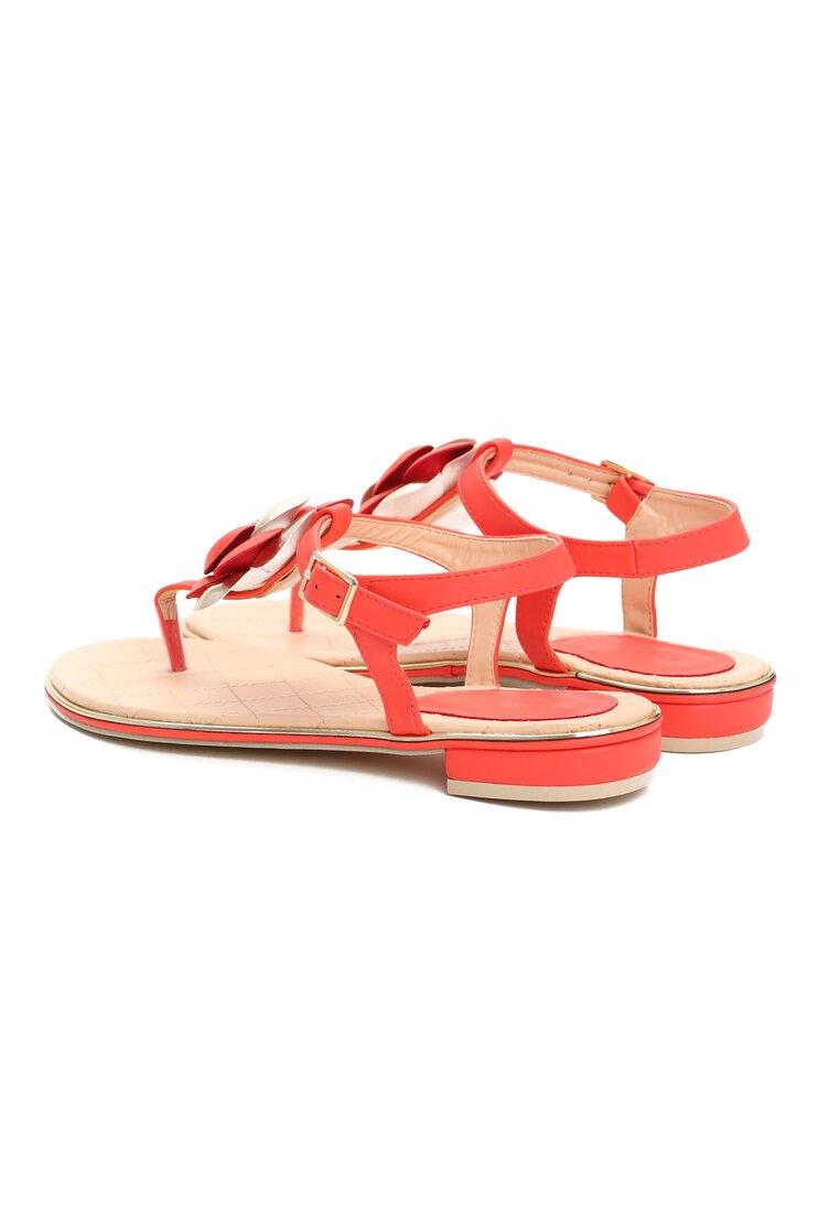 Czerwone Sandały Blossom