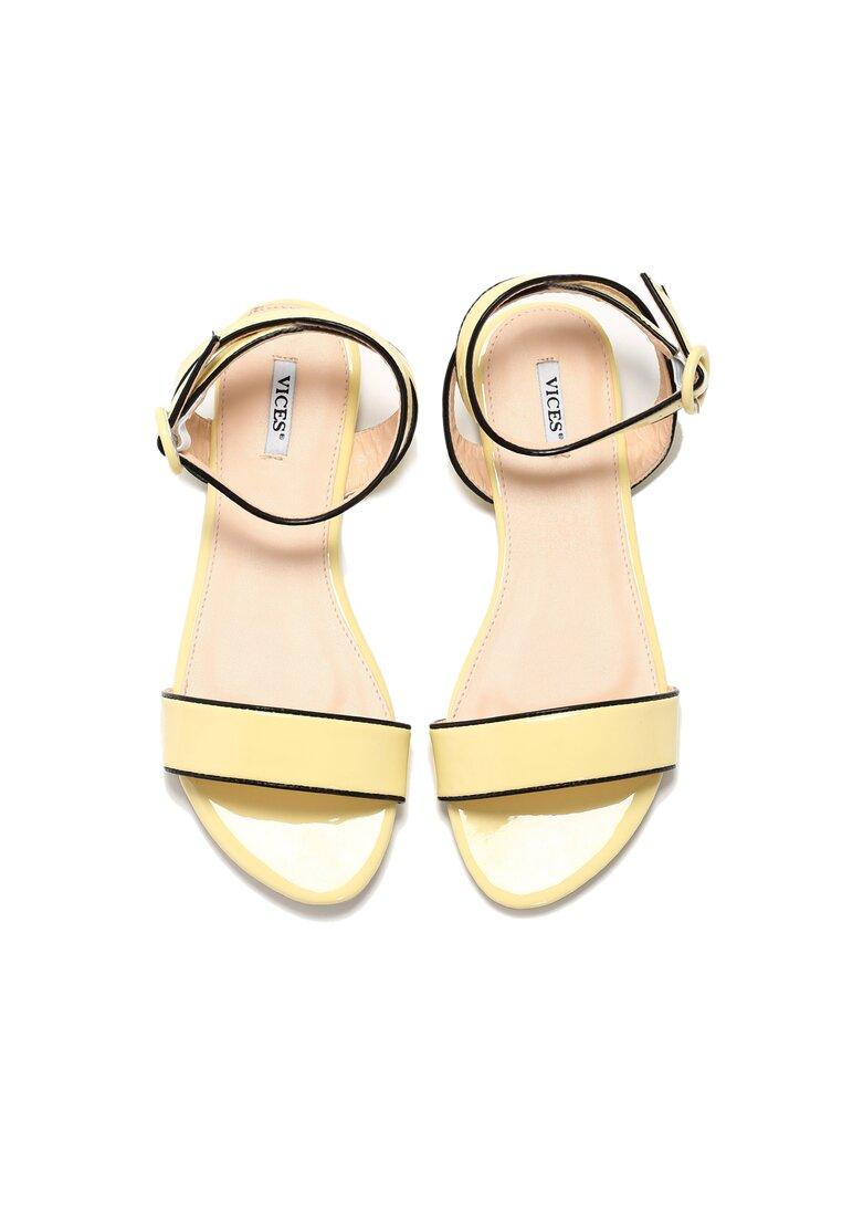 Żółte Sandały Upbeat