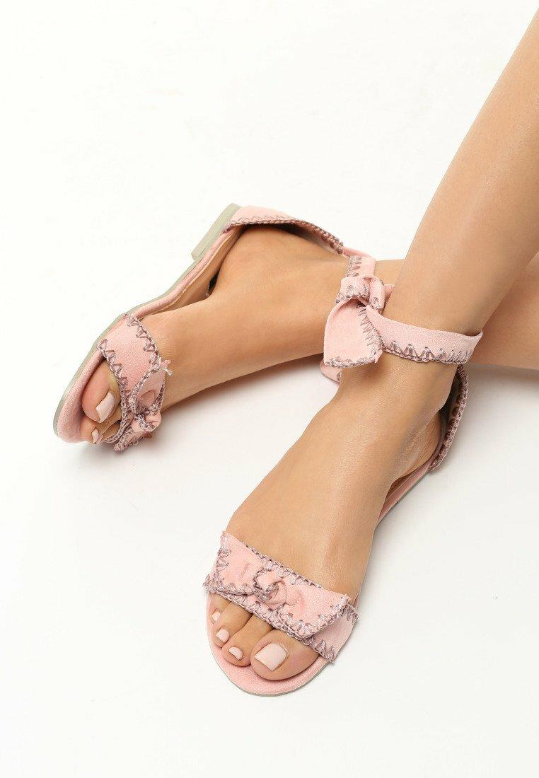 Różowe Sandały Gimme Gimme