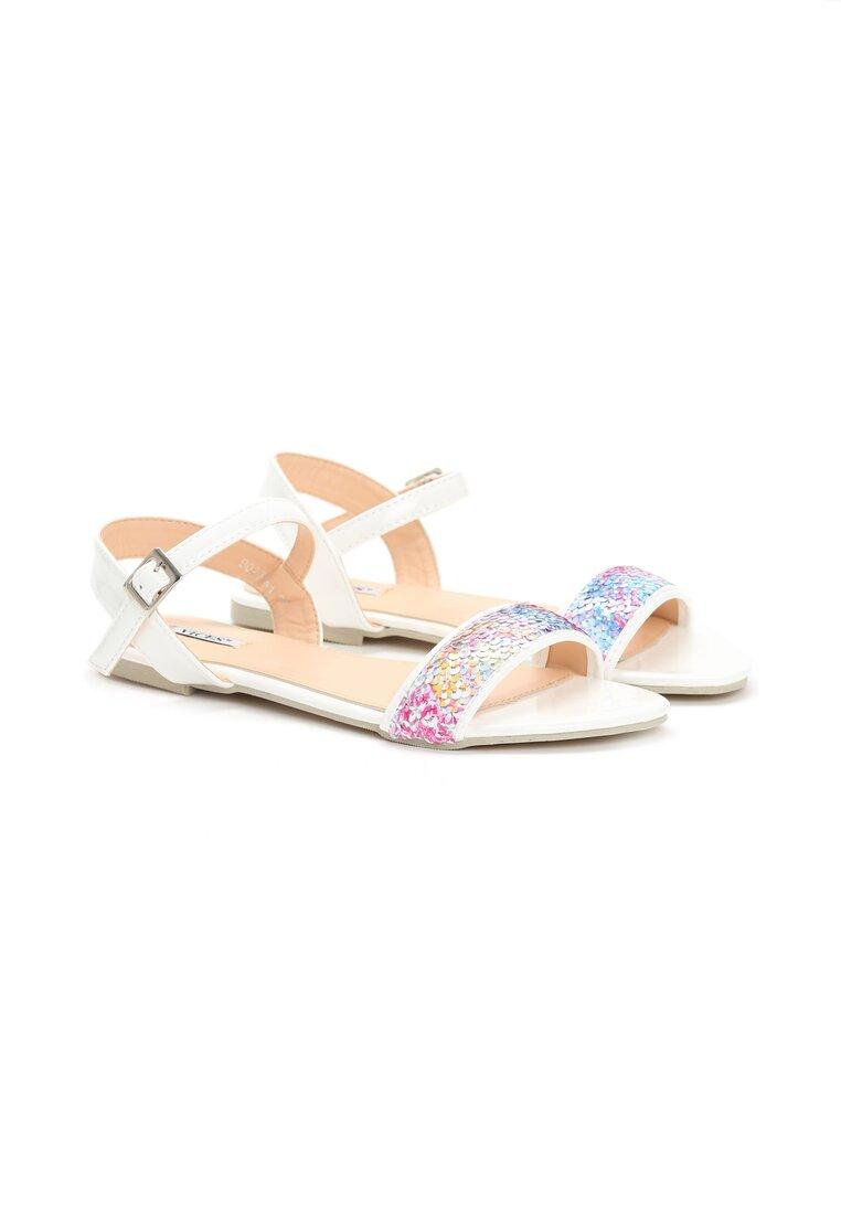 Białe Sandały Prism