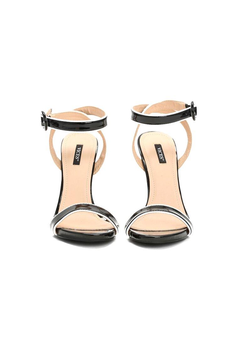 Czarne Sandały Stinger
