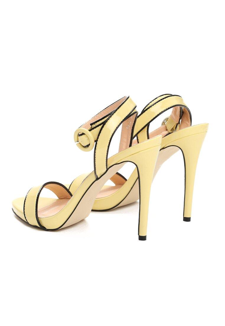 Żółte Sandały Stinger