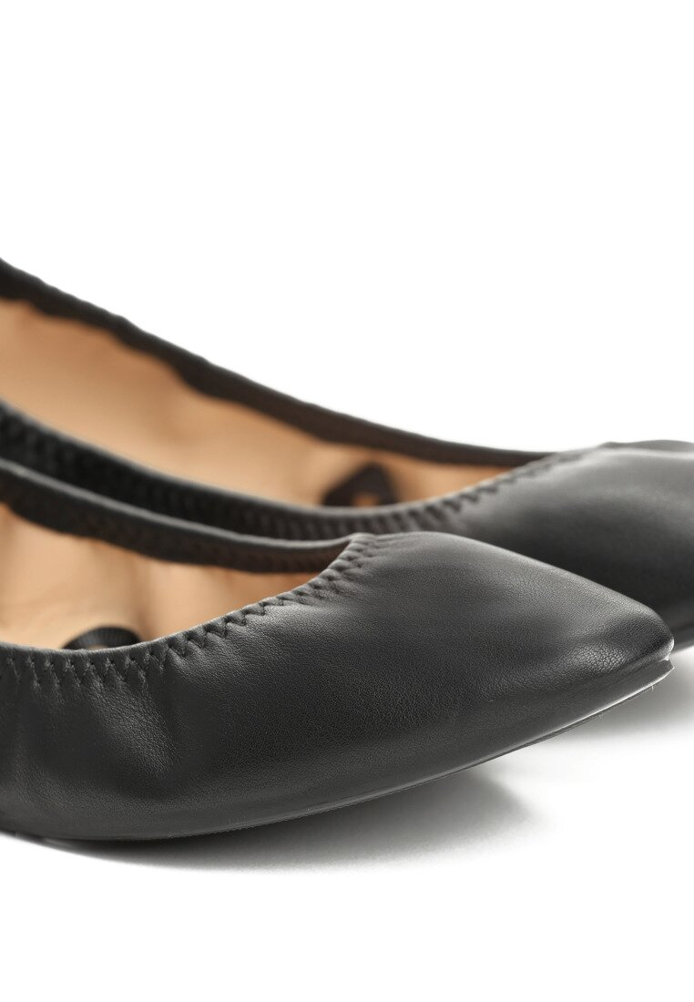 Czarne Baleriny Vanilla