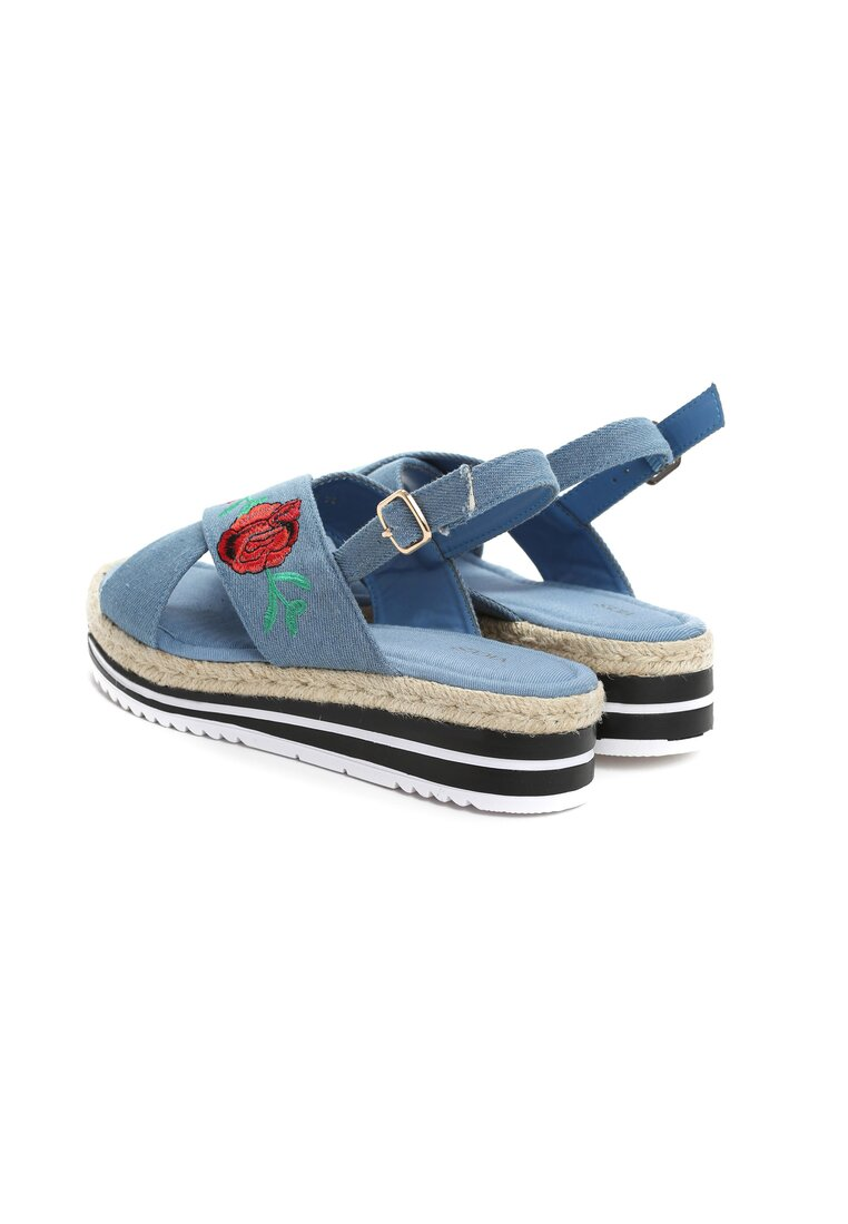 Niebieskie Sandały Yugen