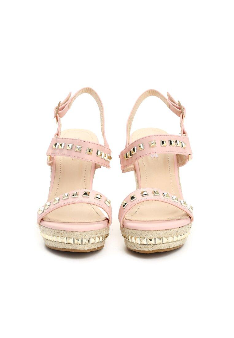 Różowe Sandały Amazed