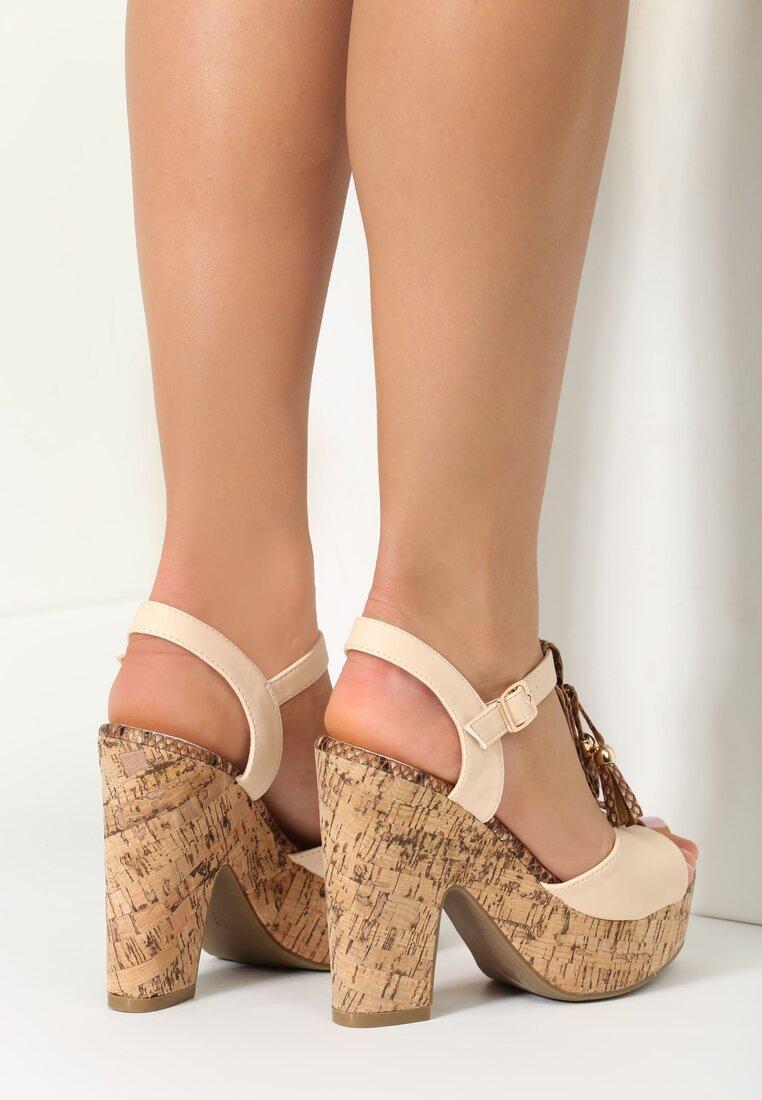 Beżowe Sandały Great Heights
