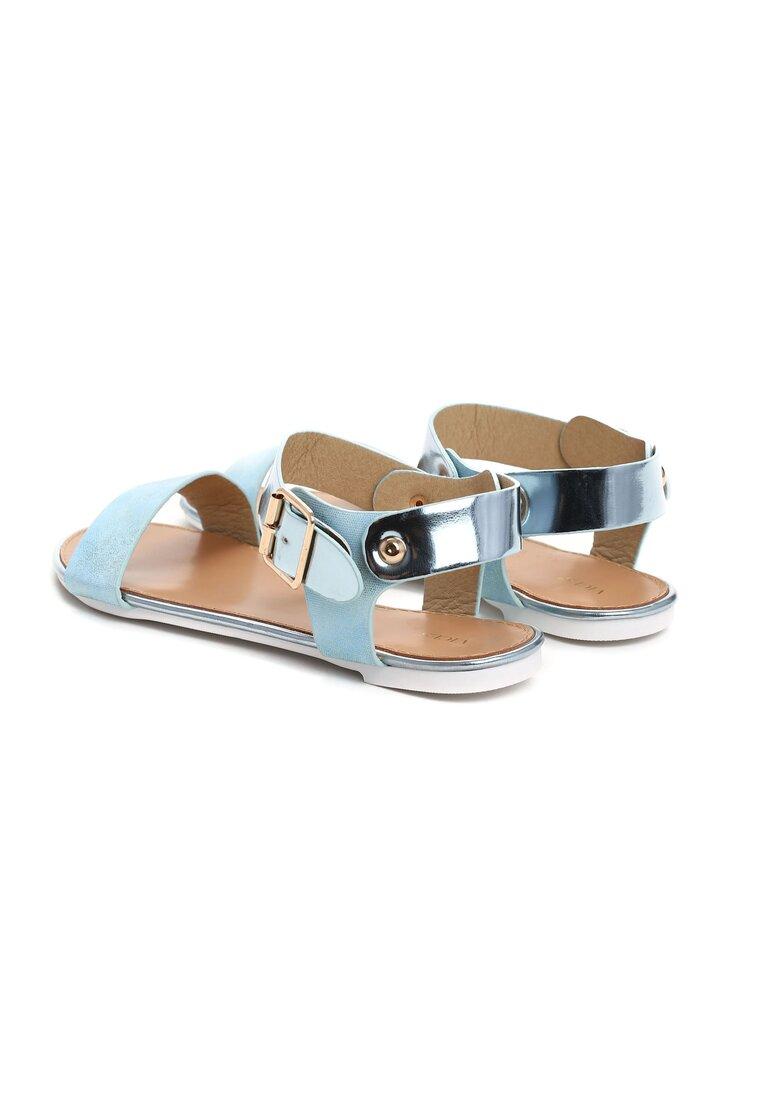 Niebieskie Sandały Remi