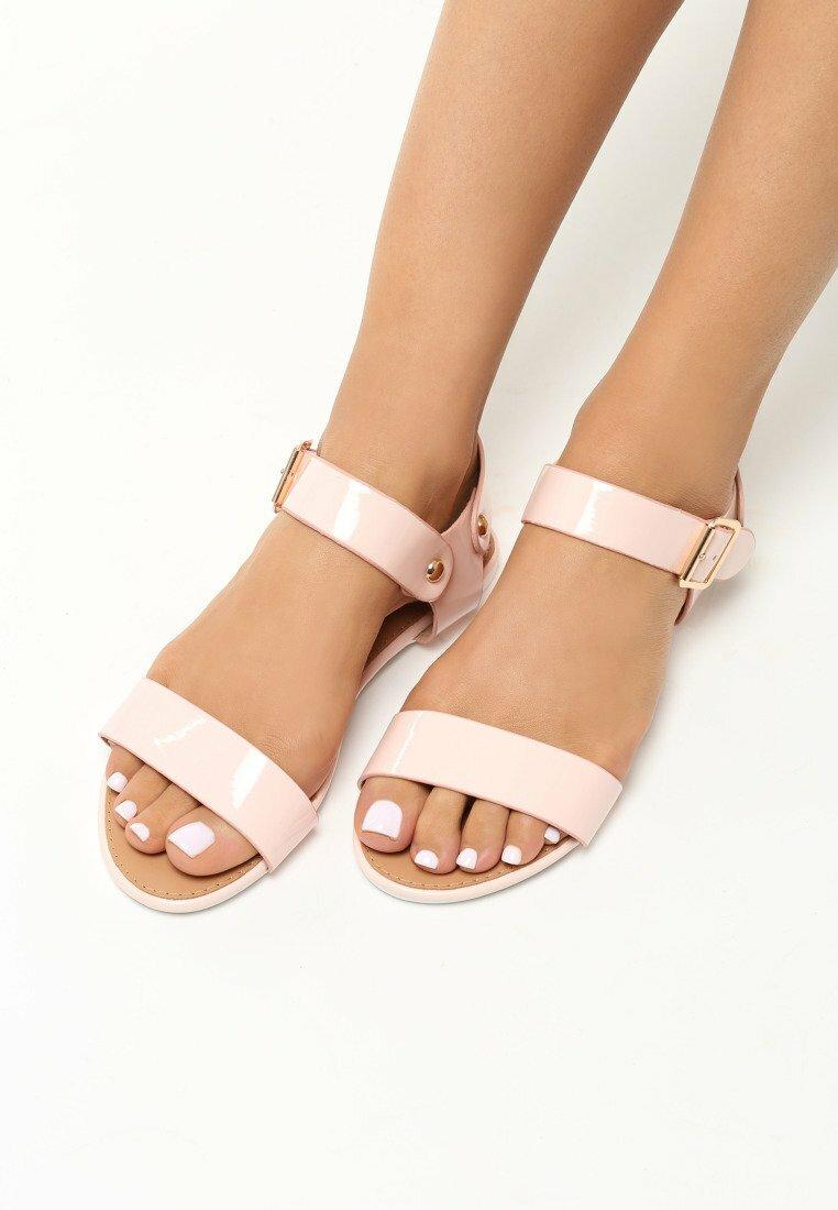 Różowe Sandały Resfeber