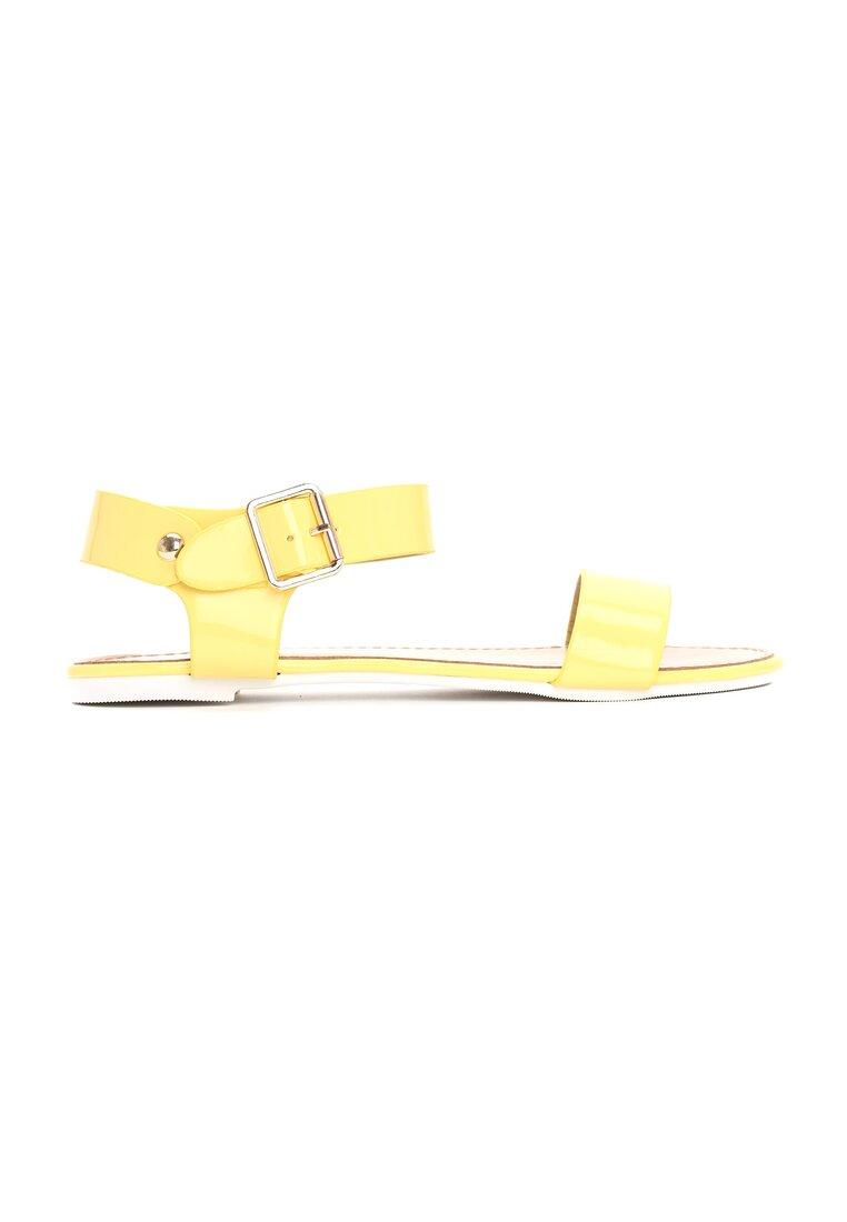Żółte Sandały Now or Never