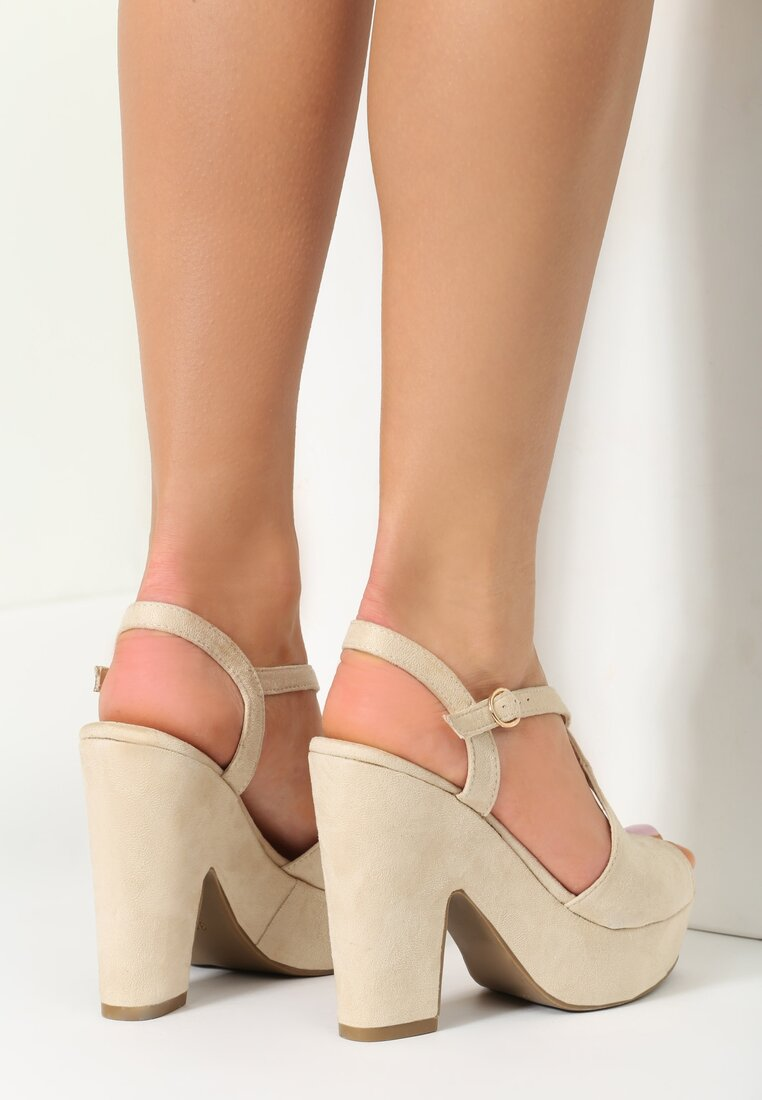 Beżowe Sandały Next Love