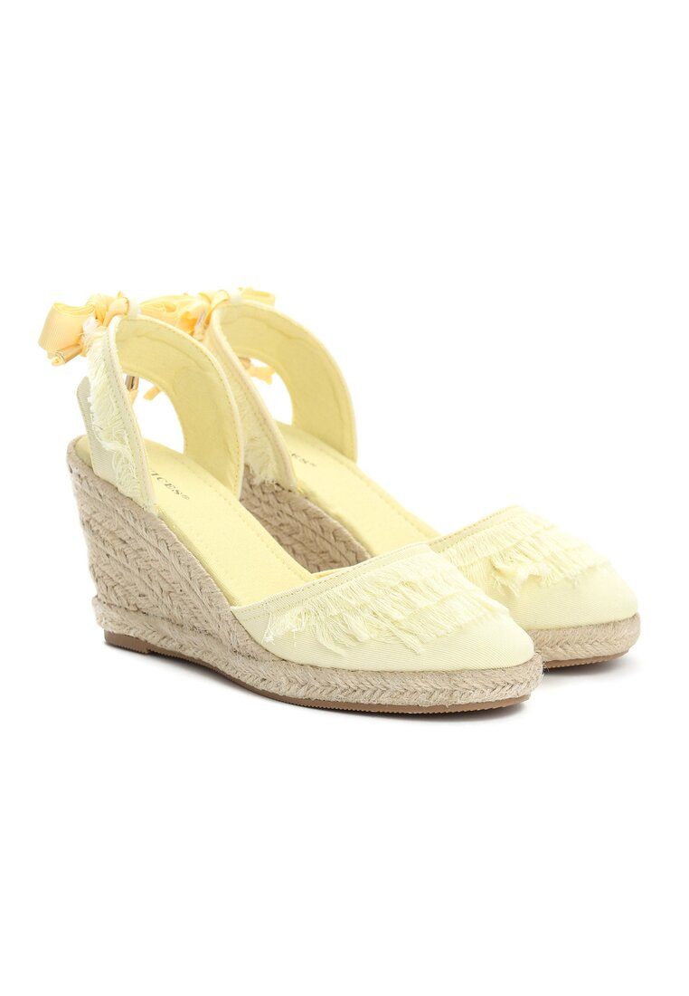 Żółte Sandały Attractive