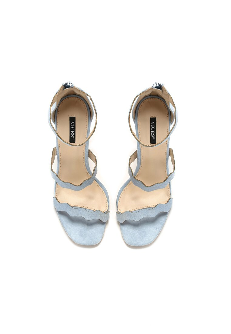 Niebieskie Sandały Hominem