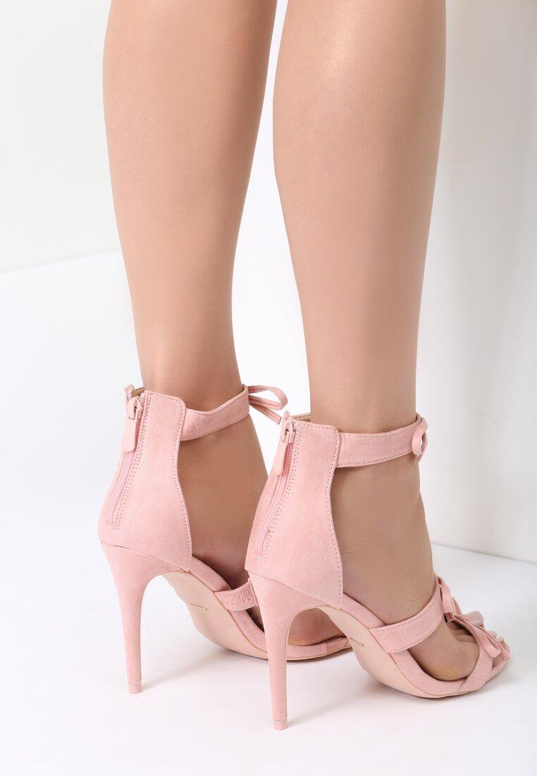 Różowe Sandały Lumos