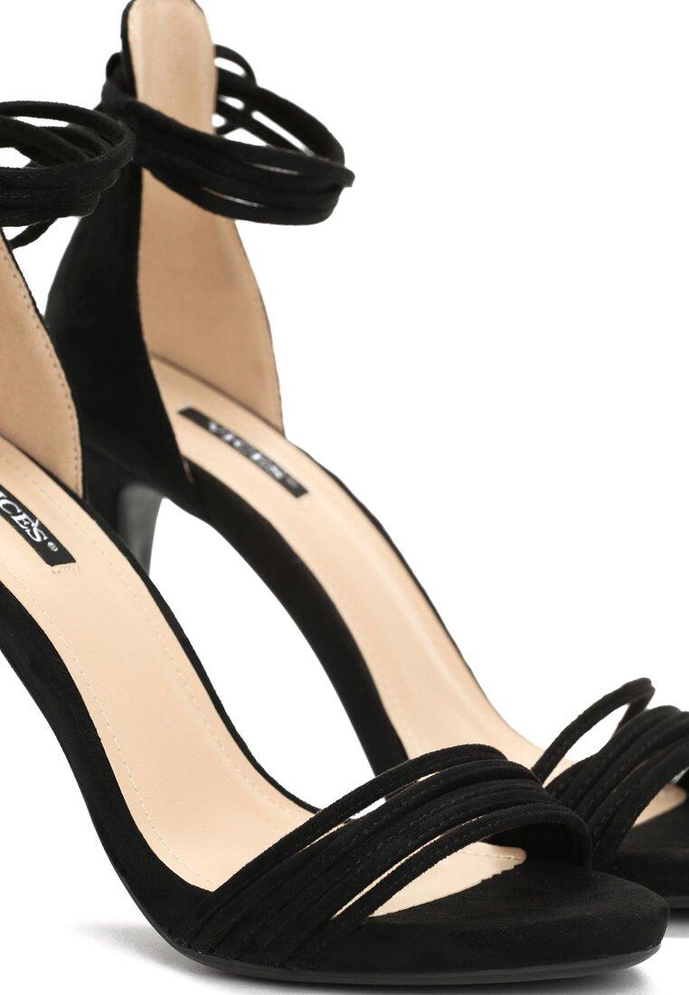 Czarne Sandały Flashes