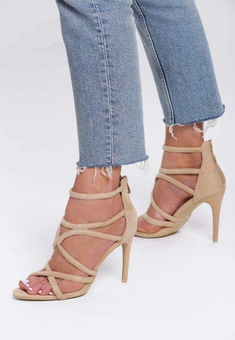Beżowe Sandały Alibi