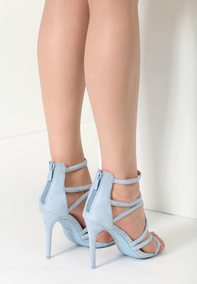 Niebieskie Sandały Glorious