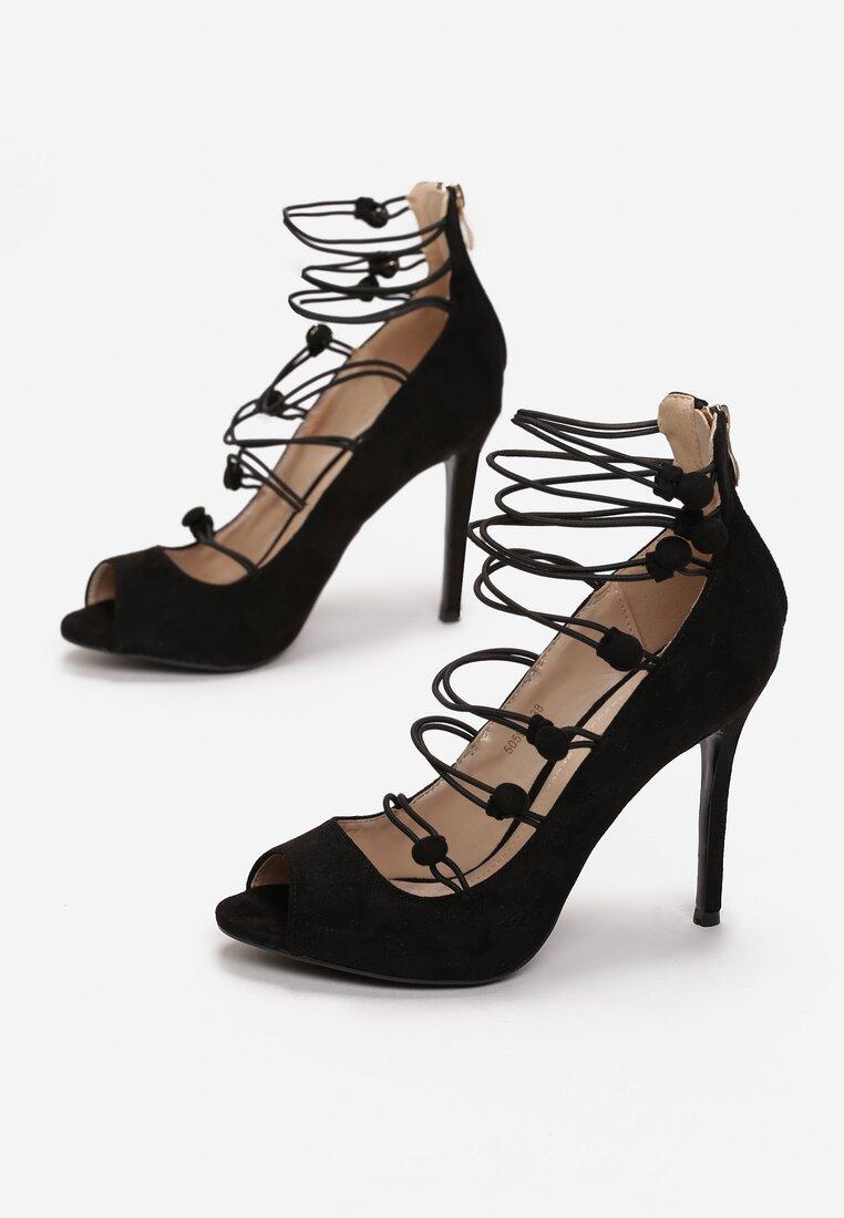 Czarne Sandały Batani