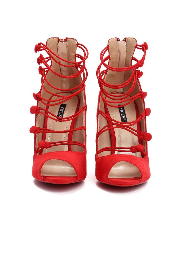 Czerwone Sandały Batani