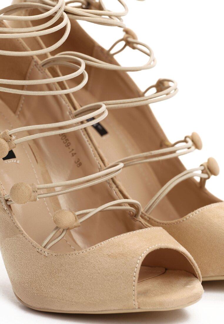 Beżowe Sandały Batani