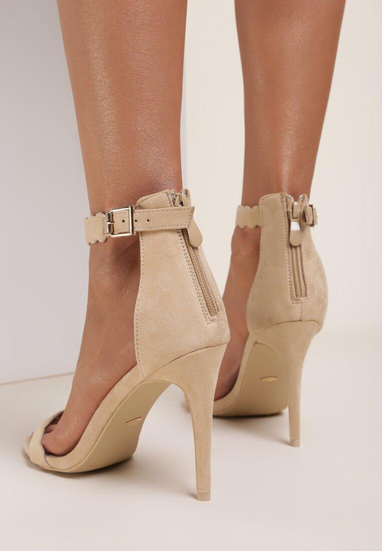 Beżowe Sandały Rhia