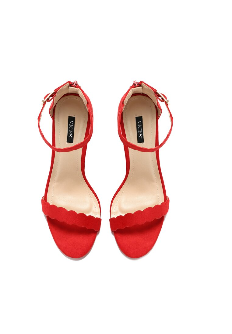 Czerwone Sandały Rhia