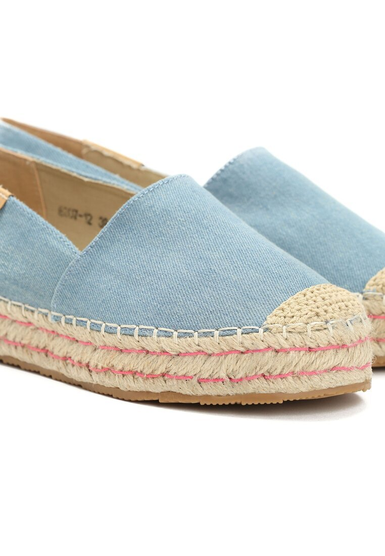 Janoniebieskie Espadryle Need You