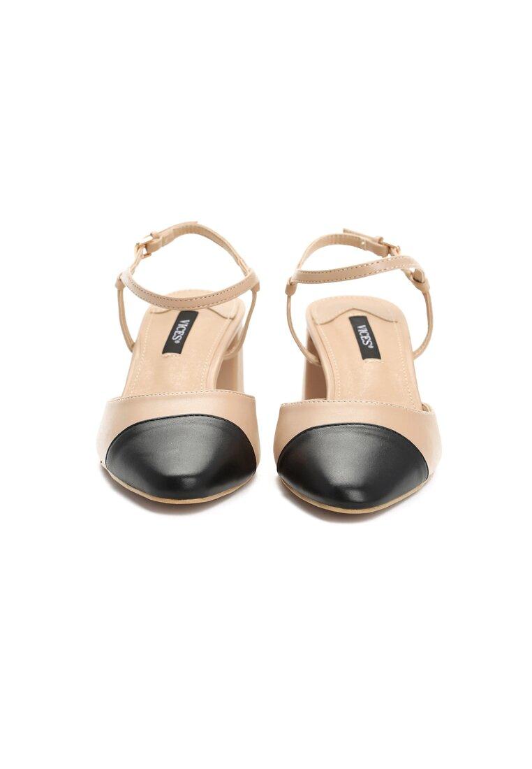 Beżowe Sandały Naris