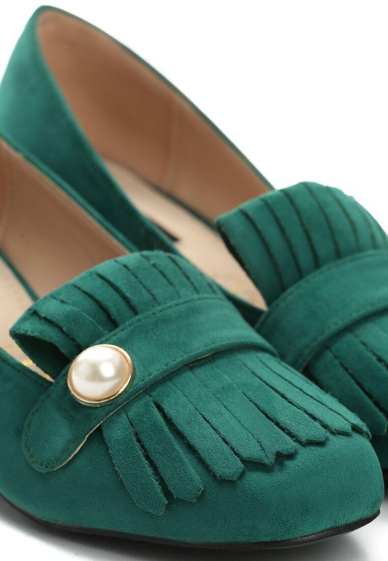 Zielone Czółenka Plethora