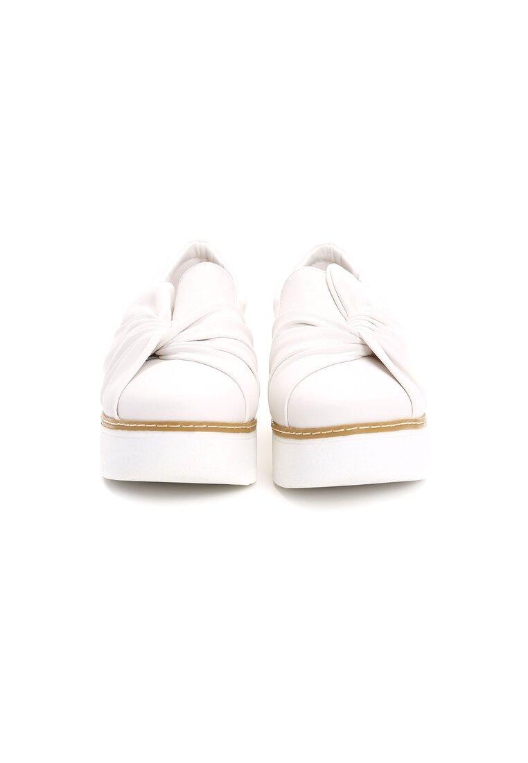 Białe Slip On Jass