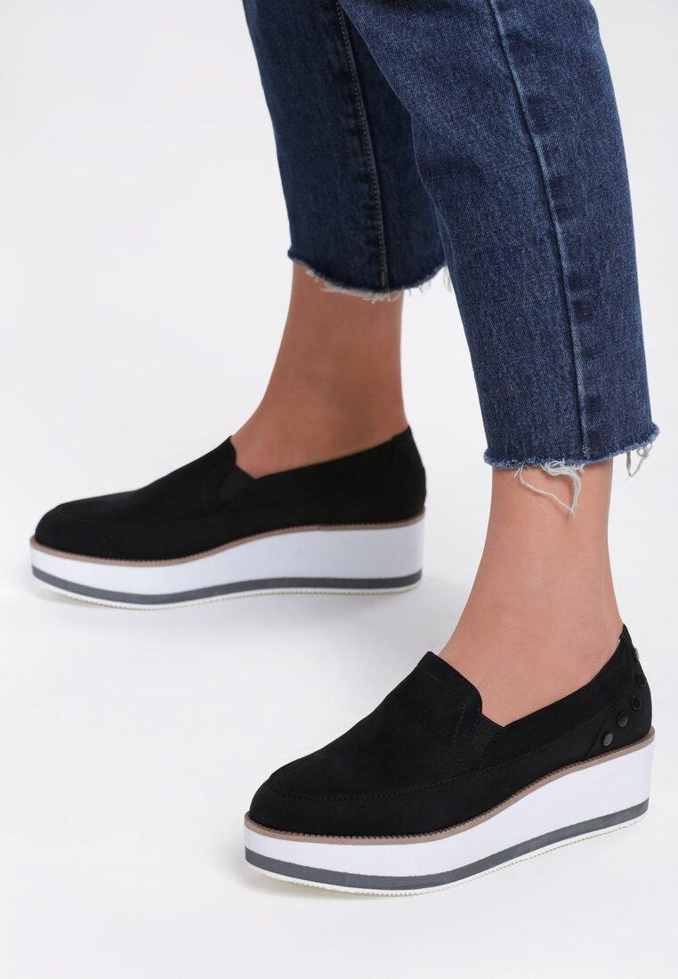 Czarne Slip On Juniper