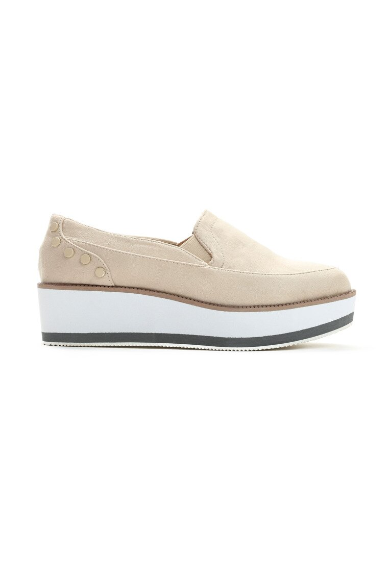 Beżowe Slip On Juniper