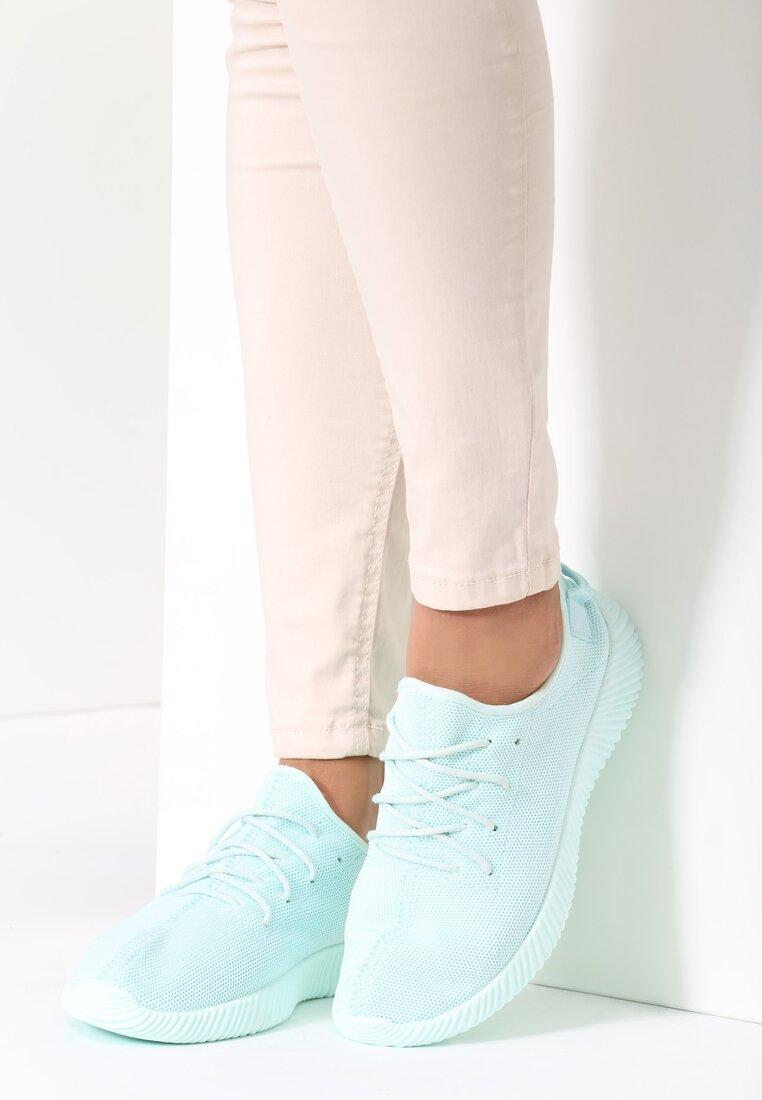 Jasnoniebieskie Buty Sportowe Wan