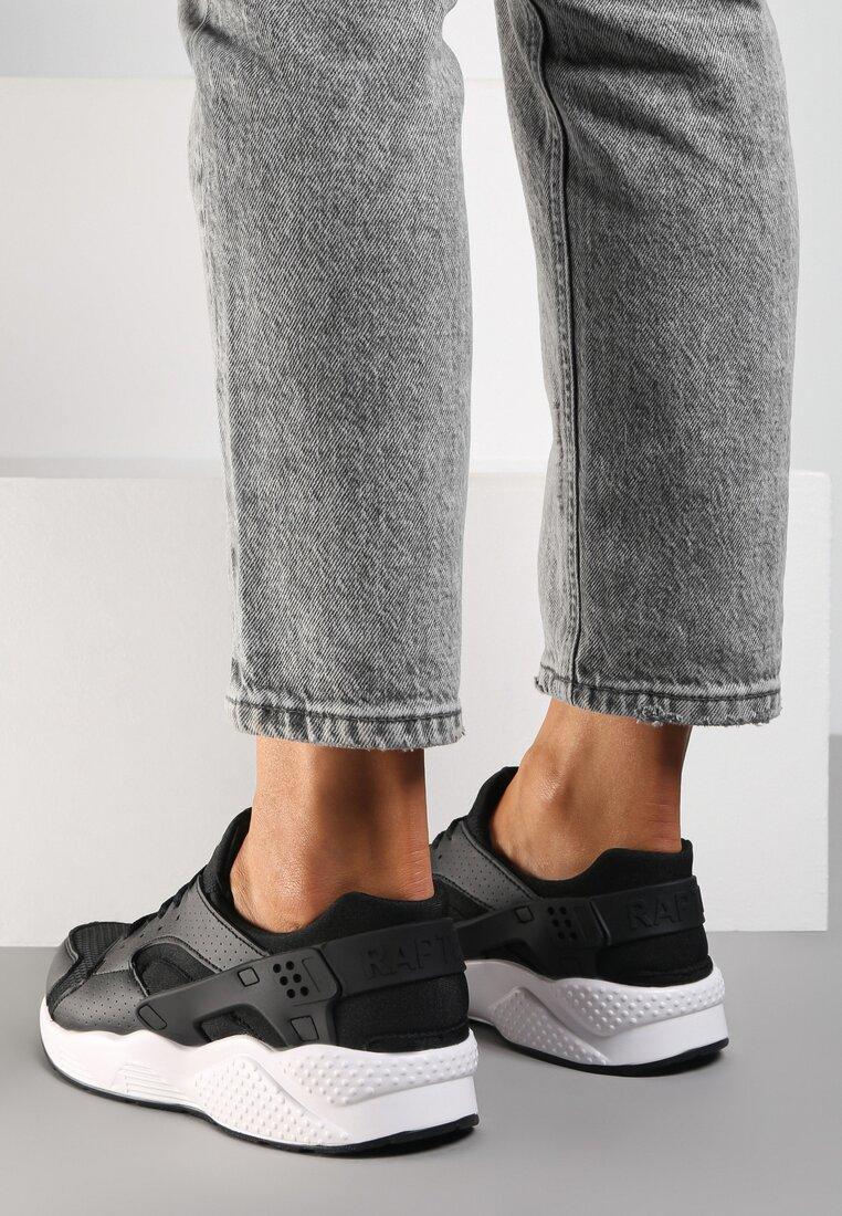 Czarne Buty Sportowe Flexible