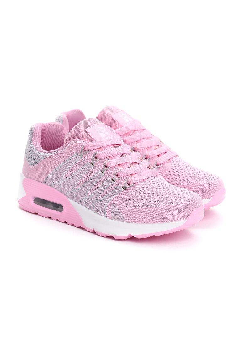 Różowe Buty Sportowe Watty