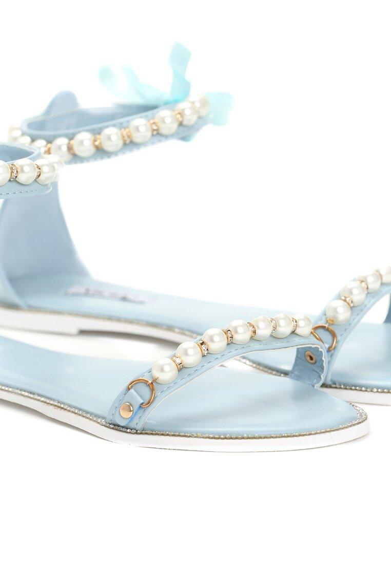 Błękitne Sandały As A Rule