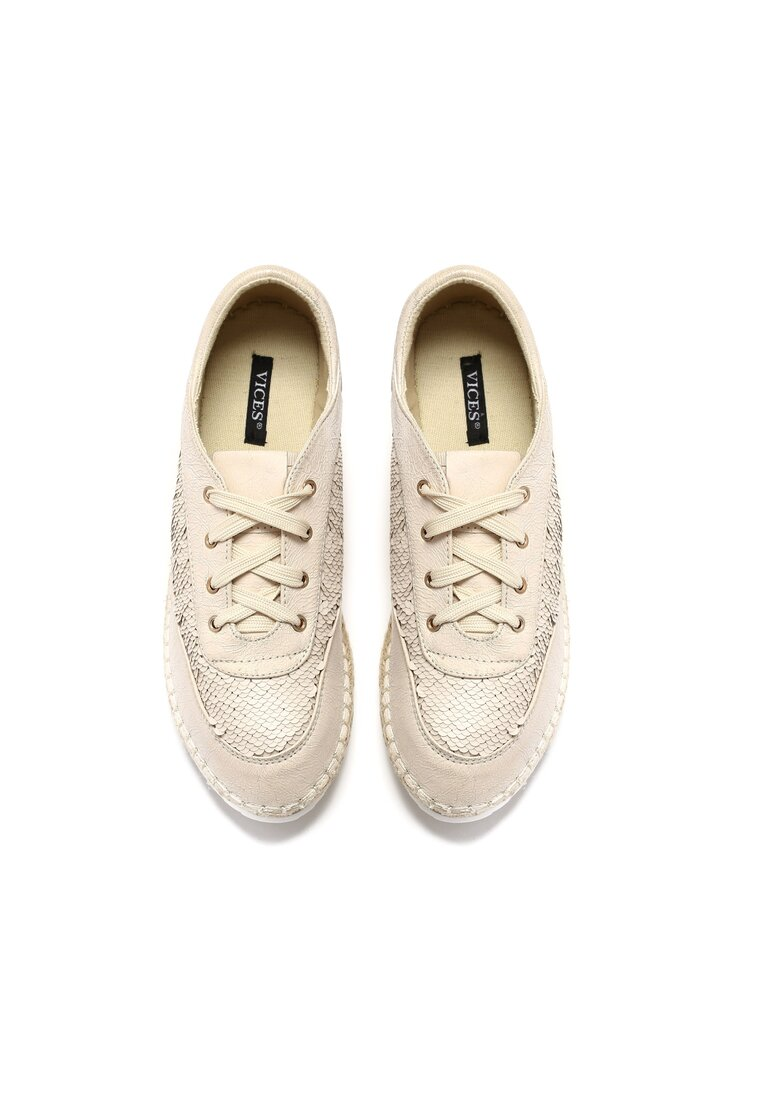 Beżowe Espadryle Rich And Fame