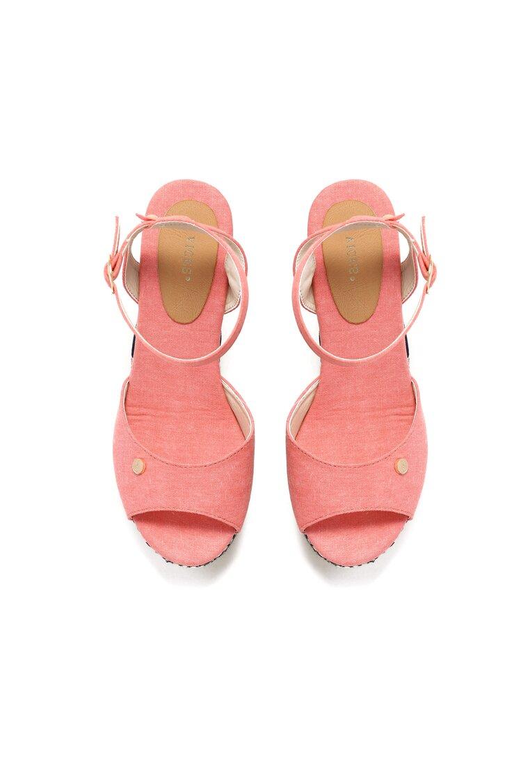 Różowe Sandały Virtue