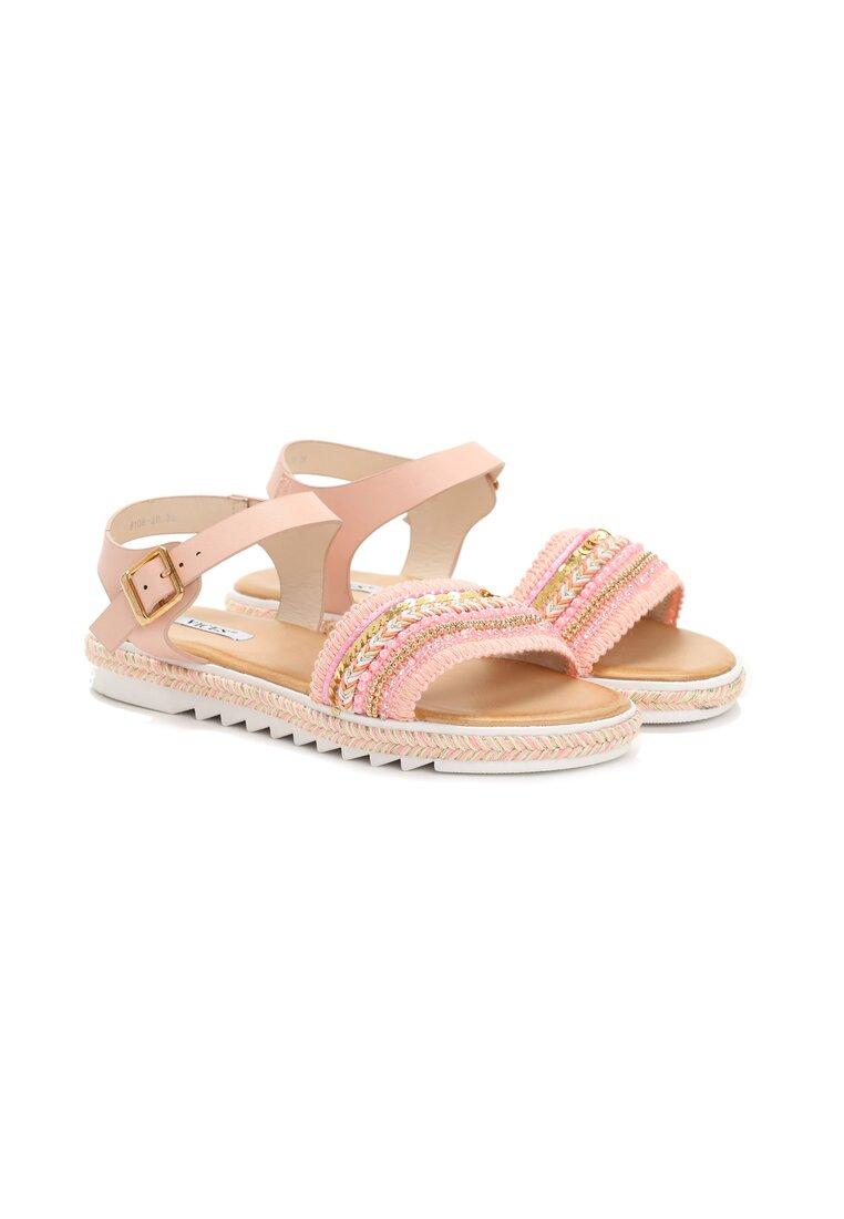 Różowe Sandały Amuse Me