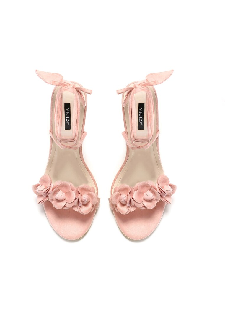 Różowe Sandały Celly