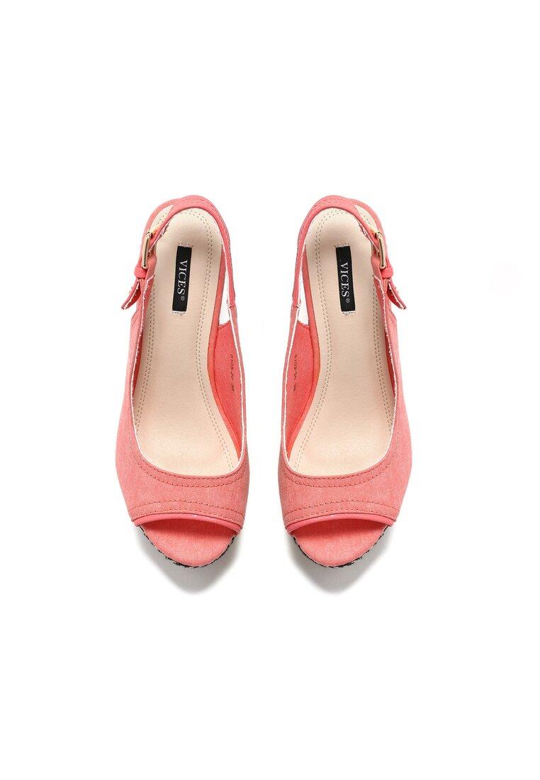 Różowe Sandały Countdown