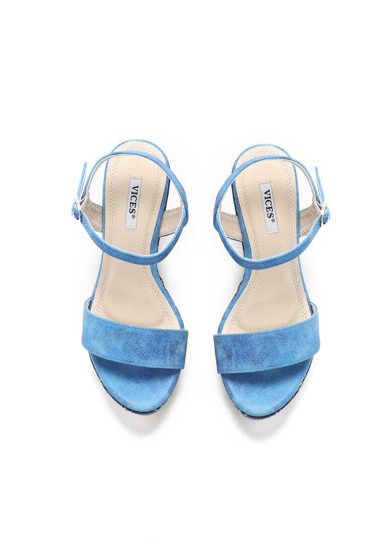 Niebieskie Sandały Begin Again
