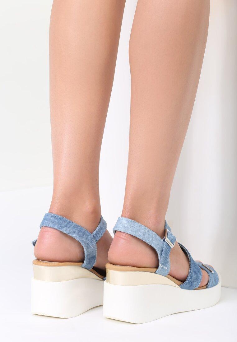 Jasnoniebieskie Sandały Have Fun