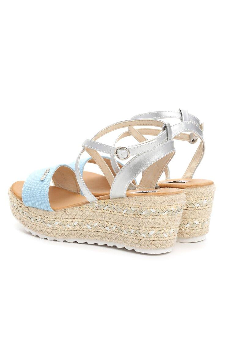 Jasnoniebieskie Sandały Sue Me