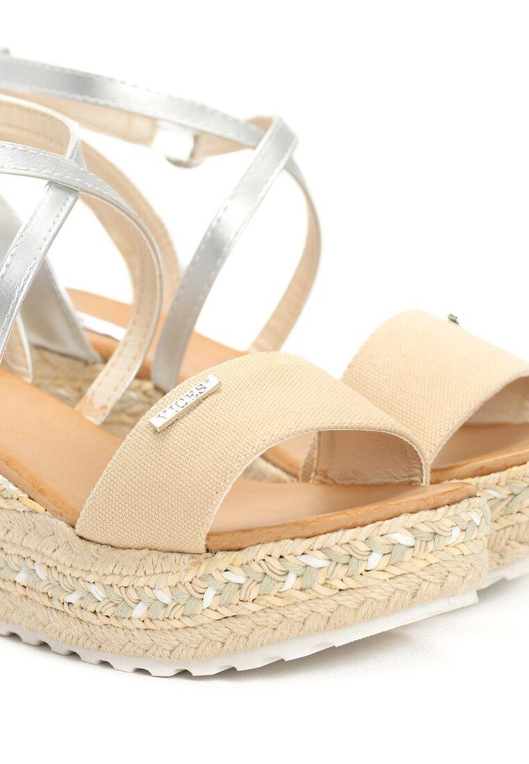 Beżowe Sandały Sue Me