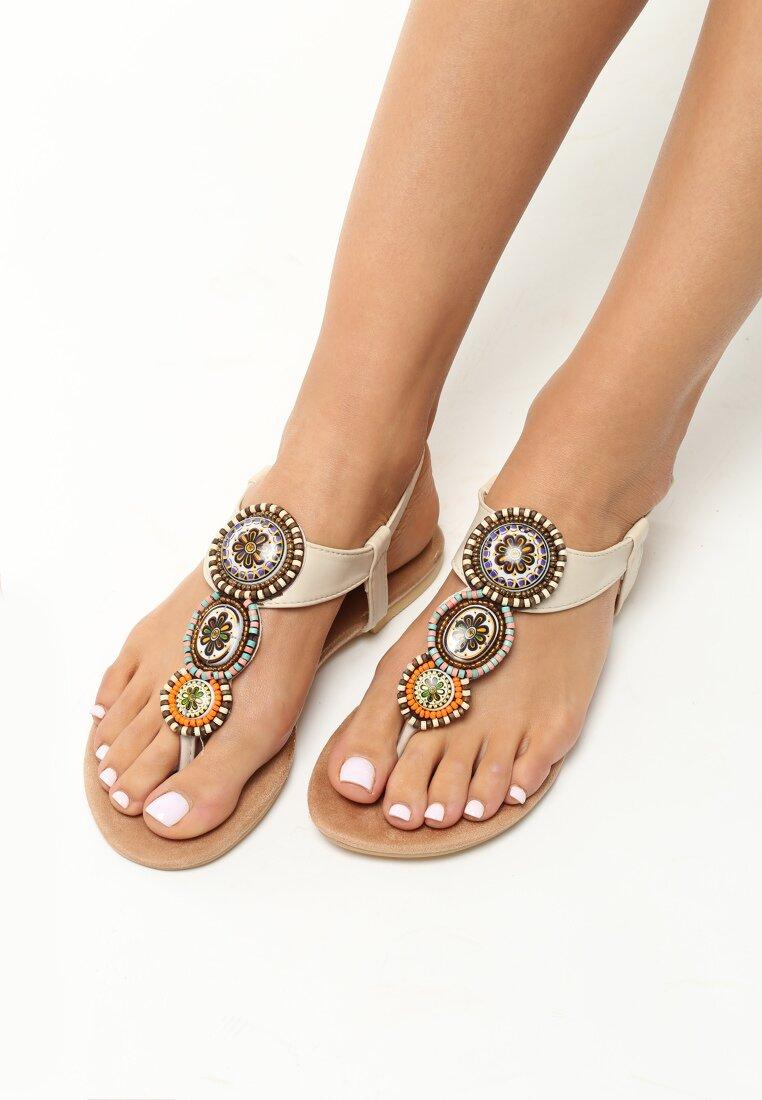 Beżowe Sandały Secret