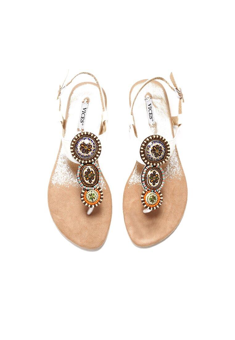 Białe Sandały Secret