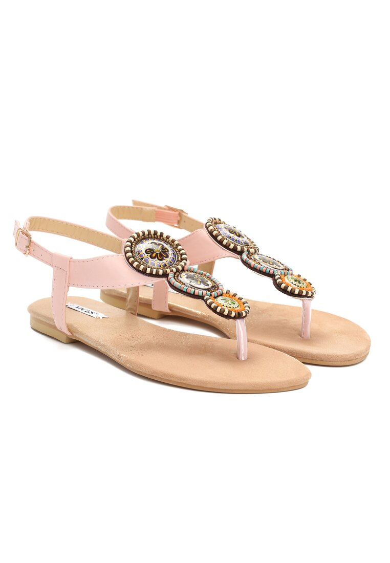 Różowe Sandały Secret