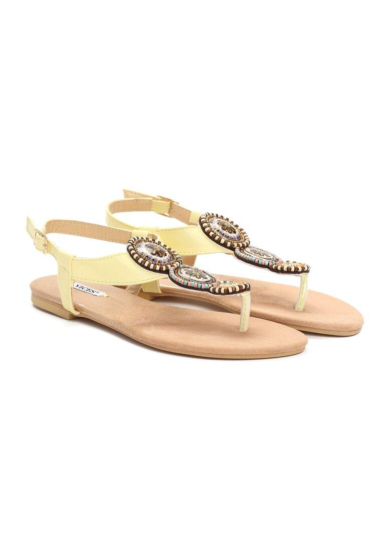 Żółte Sandały Secret