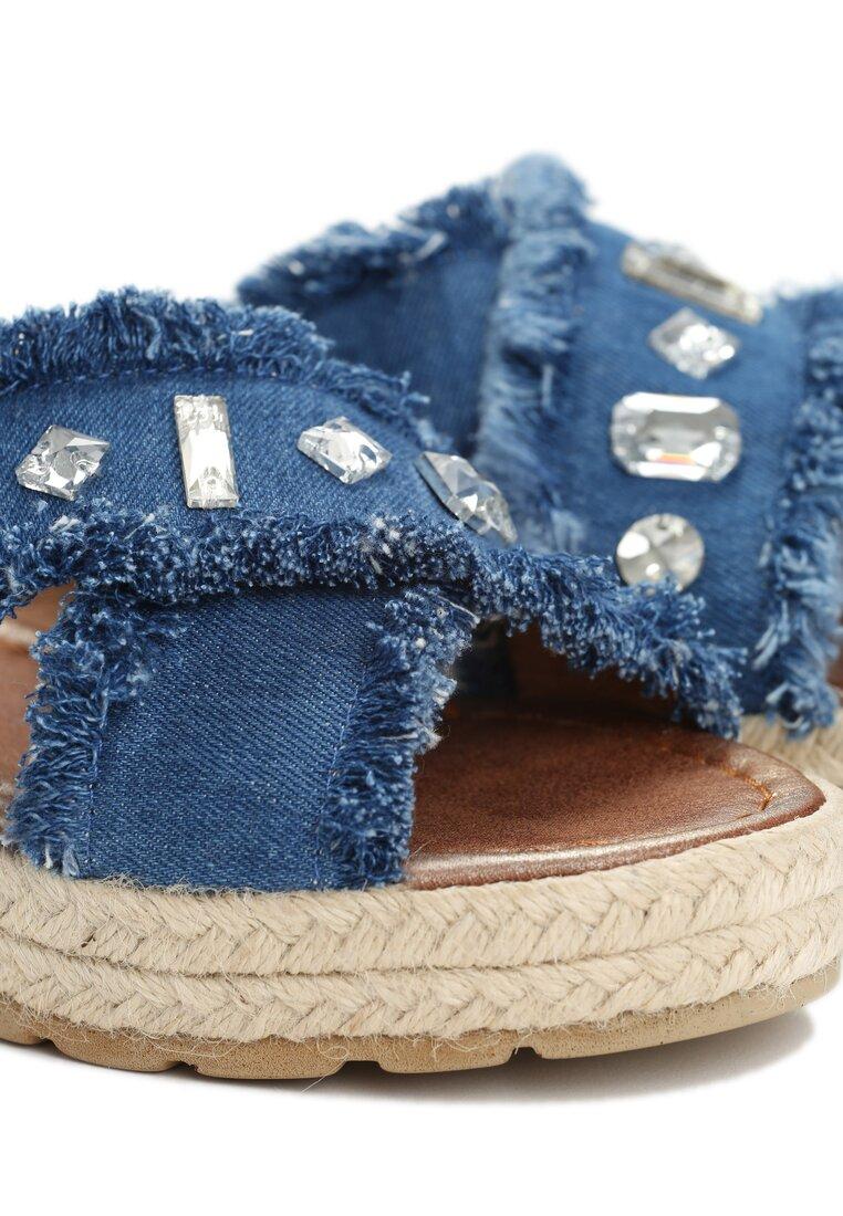Niebieskie Klapki Fortunate