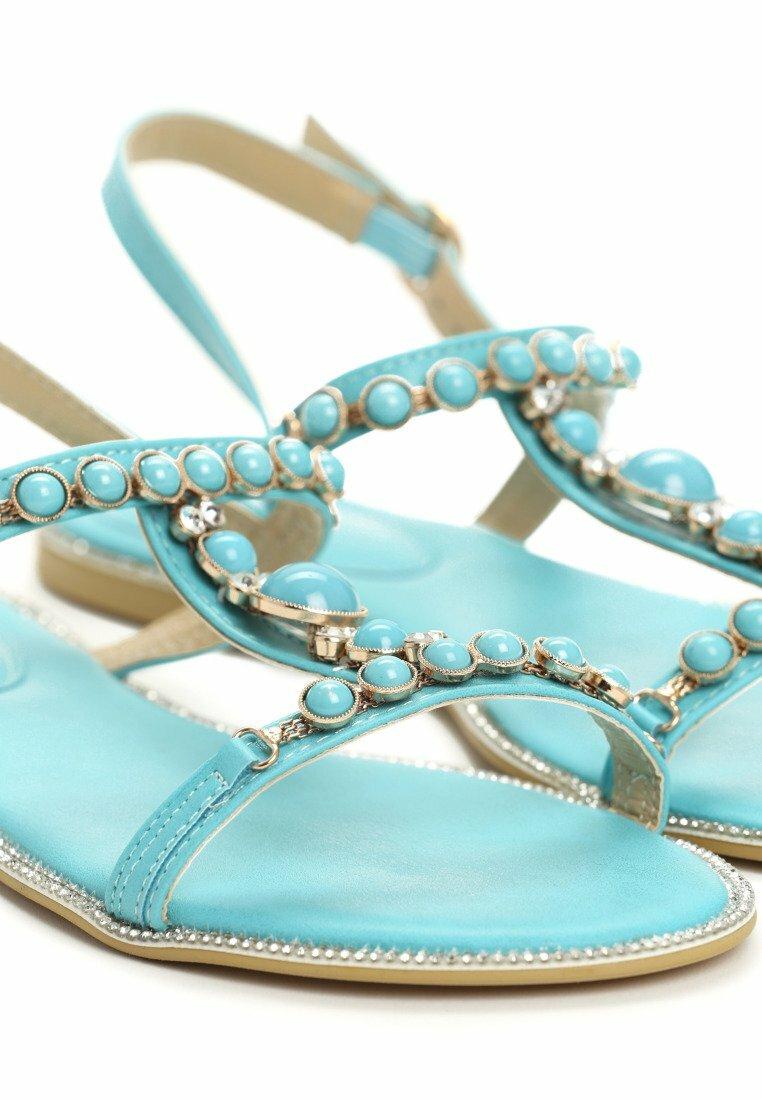 Niebieskie Sandały Coral